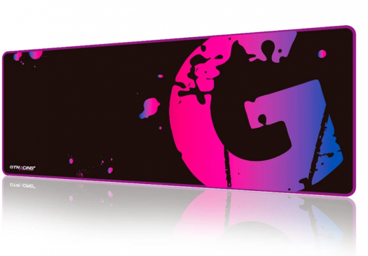 gt racing mouse pad purple/pink