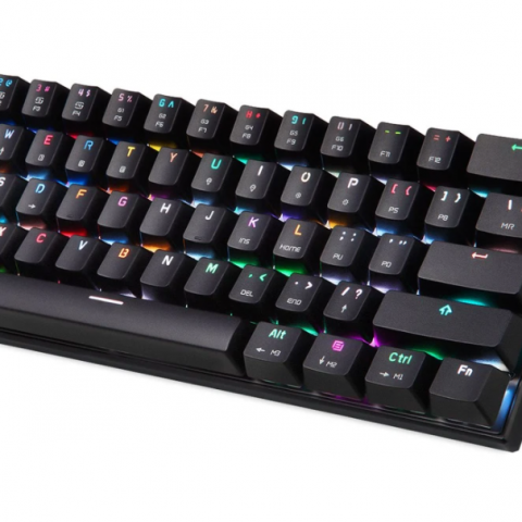 CK62 Compact Mechanical 61 Keys Gaming Keyboard angle view